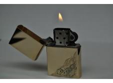 золотая зажигалка